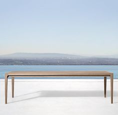 Ciel Rectangular Dining Table Available August Modern Dining Table, Furniture Collections, Beach Furniture, Outdoor Dining Table, Danish Modern Design, Dining Table Chairs, Rectangular Dining Table, Outdoor Furniture Collections, Dining