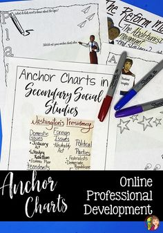 Have you heard about anchor charts but you are unsure how to implement them in secondary Social Studies? Are anchor charts a tool you find valuable but you are looking for more ideas? Check out my online professional development course created specifically for secondary Social Studies teachers! History Classroom, Teaching History, Teaching Secondary, Texas History, Study Skills, Professional Development, Anchor Charts, Social Studies, Breakup