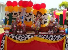"Photo 3 of 22: Toy Story Woody Round Up / Birthday ""Toy Story Woody Round Up""   Catch My Party"