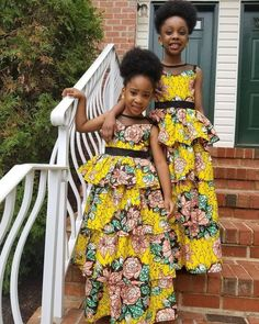 Gown for kids,ankara gown for kids, African dress, kids, childrens clothes. Make your kids differen Ankara Styles For Kids, African Dresses For Kids, Ankara Gown Styles, Latest African Fashion Dresses, Ankara Gowns, Ankara Dress, African Print Fashion, African Prints, Dashiki Dress