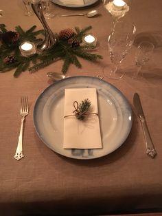 Borddekking julemiddag