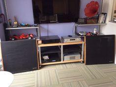Dahlquist DQ-10 Vintage Speakers, Mid Century Modern, NYC