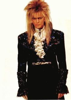 Jareth (David Bowie) is the Goblin King who is summoned. Description from onogyqudys.sourceforge.net. I searched for this on bing.com/images