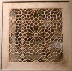 Handprinted by David: Sandstone screens from Agra Column Design, Floor Design, Jaali Design, Cnc Cutting Design, Morrocan Decor, Islamic Art Pattern, Soul Design, Oriental Pattern, Screen Design
