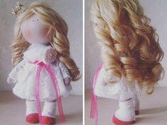 Princess doll Tilda doll Nursery doll Textile por AnnKirillartPlace
