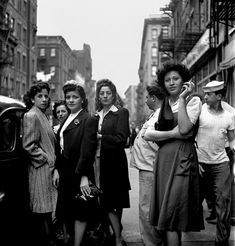 Little Italy, New York, 1943, Fred Stein