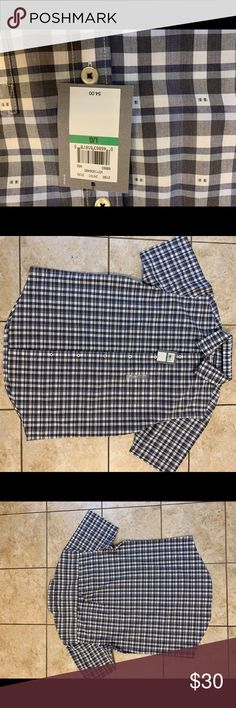 Van heusen L shirt classic fit checks Brand new with tags L classic fit Great quality shirt at affordable pricing Check my other listings for bundle Thanks Van Heusen Shirts Dress Shirts Dress Shirts, Van, Man Shop, Classic, Fitness, Check, Closet, Things To Sell, Armoire