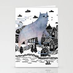 The Fog Stationery Card