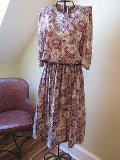 Vintage M.C.S. Ltd New York Dress on Etsy, $10.00