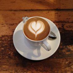 Latte Art at Collective Coffee in Saskatoon