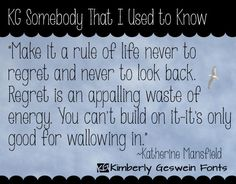 KG Somebody That I Used to Know font by Kimberly Geswein - FontSpace