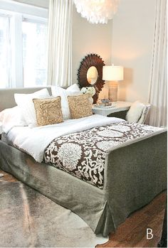Neutral bedroom. Trenna Travis Design Studio