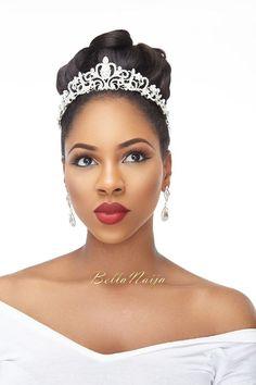 Wedding Makeup Tips, Wedding Hair And Makeup, Bridal Makeup, Hair Makeup, Natural Hair Wedding, Wedding Hair Down, Wedding Updo, Wedding Crowns, Black Wedding Hairstyles