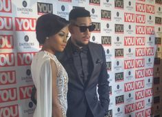 AKA and Bonang made quite the entrance at the YOU Spectacular Awards