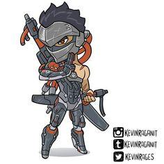 Cute Blackwatch Genji