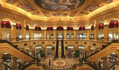 The venetian in macau, china (near hong kong). this is the world's largest casino - which includes a copy of the venice canals and gondolas, luxurious rooms Snacks For Work, Healthy Work Snacks, Circus Circus Hotel, The Hangover, Venice Canals, Casino Theme Parties, Backdrops For Parties, Macau, Venetian