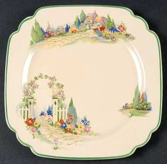 Homer Laughlin English Garden at Replacements, Ltd Vintage Dishes, Vintage China, Antique China, Vintage Recipes, Vintage Kitchen, Retro Vintage, Vintage Pattern Design, Vintage Vogue Patterns, Garden Care