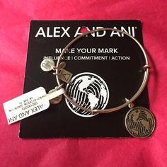 Alex and Ani - Make Your Mark, silver