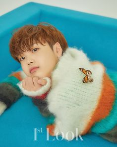 for Look' magazine Look Magazine, Love U Forever, Thing 1, Fandom, Twitter Update, The Wiz, Debut Album, Kpop Boy, Korean Boy Bands