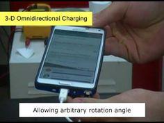 Método para cargar dispositivos a distancia y en cualquier orientación