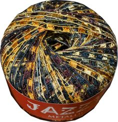 "TIGERS EYE ""Jazzy"" Brand Ladder Yarn. Replacing our Dark Horse Beautiful. Better quality. CreativeFiberArts.com"