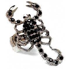 phoenix view scorpion front ring sonoda scorpio product rings silver and sterling p