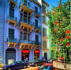 Beautiful colours of Beirut