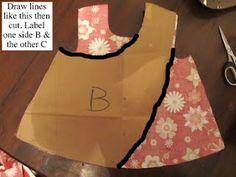 make a pinafore pattern