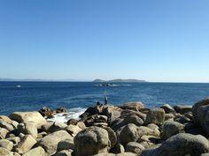 Vista de las Islas de Ons - desde San Vicente del Mar #RíasBaixas #Galicia