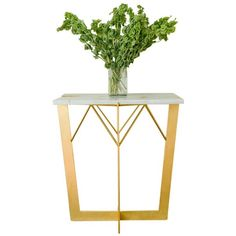 Great Jones Side Table 1 ❤ liked on Polyvore featuring home, furniture, tables, accent tables, contemporary furniture, contemporary table, contemporary side tables, modern classic furniture and contemporary end tables
