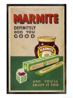 Marmite Spreads and Cubes Definitely Does You Good and You'll Enjoy It Too.
