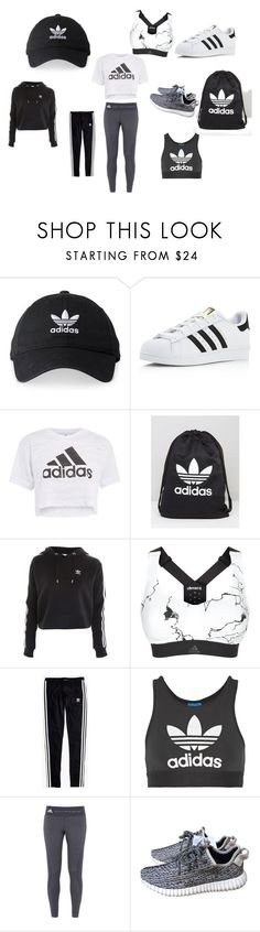 """Untitled #7"" by vanessa-blomerus on Polyvore featuring adidas, Topshop, Madewell and adidas Originals"