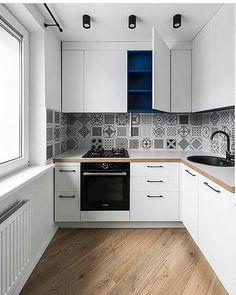 Beautiful Galley Kitchen Remodel Design 17 Best Ideas About Galley Kitchen Design, Small Galley Kitchens, Galley Kitchen Remodel, Kitchen Room Design, Modern Kitchen Design, Home Decor Kitchen, Interior Design Kitchen, Kitchen Ideas, Minimal Kitchen