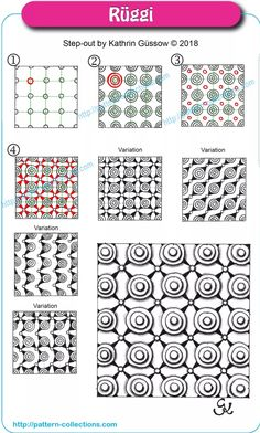 Blackwork Patterns, Doodle Patterns, Zentangle Patterns, Tile Patterns, Tangle Doodle, Tangle Art, Zen Doodle, Zentangle Drawings, Doodles Zentangles