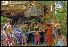 Famous Salmon Burgers at the Oregon Country Fair--delicious!