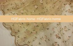 Organza style lace fabric lace dress fabric by HQFabricFamily