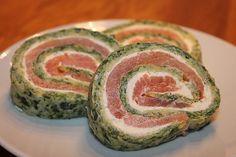 Lachs-Spinat-Rolle, ein schmackhaftes Rezept aus der Kategorie Fisch. Bewertungen: 853. Durchschnitt: Ø 4,6.