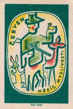 #czechoslovakian #matchbox label | by maraid  To Design & Order Your Logo #matches GoTo: GetMatches.com Today!