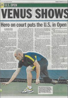 A hero on court at the #USOpen