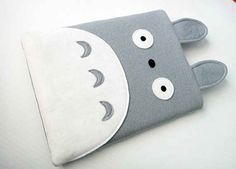 Totoro Felt iPad / iPad Mini Case | 17 Must-Have Studio Ghibli Gifts