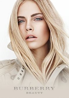 Cara Delavigne for Burberry