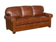 Shop For King Hickory Bentley Lthr Sofa, 4400 L, And Other Living Room