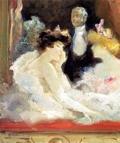 https://flic.kr/p/SybxiJ | Pompeo Mariani - Box at La Scala