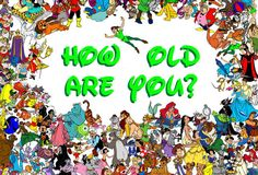 Can We Tell How Old You Are From Your Taste In Disney Movies?