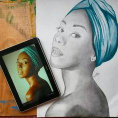 Retrato dibujo diseño arte Art illustration design fashion designer drawing