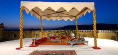 Rooftop - The Raj Palace, Jaipur