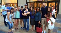 Ben, Jessa, Spurgeon, Michelle, Jeremy & Jinger have a fun in NYC. Duggar Girls, Jinger Duggar, Duggar Family, Derick Dillard, Jeremy Vuolo, Bates Family, 19 Kids And Counting, Thing 1, Sister In Law