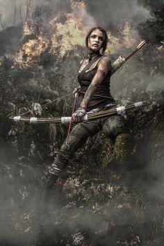 A Survivor is born (Tomb Raider) by ~Rekuuu