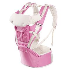 Zicac Baby Hip Seat Carrier Child Comfortable Multifunction Carrier Backpacks Pink ** Read more reviews of the product by visiting the link on the image.