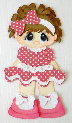 little miss polka dot.....(SWEEEET!!!.... I love her big, bashful eyes and polka dots!)...
